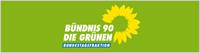 Wortbildmarke der Bundestagsfraktion Bündnis 90/Die Grünen