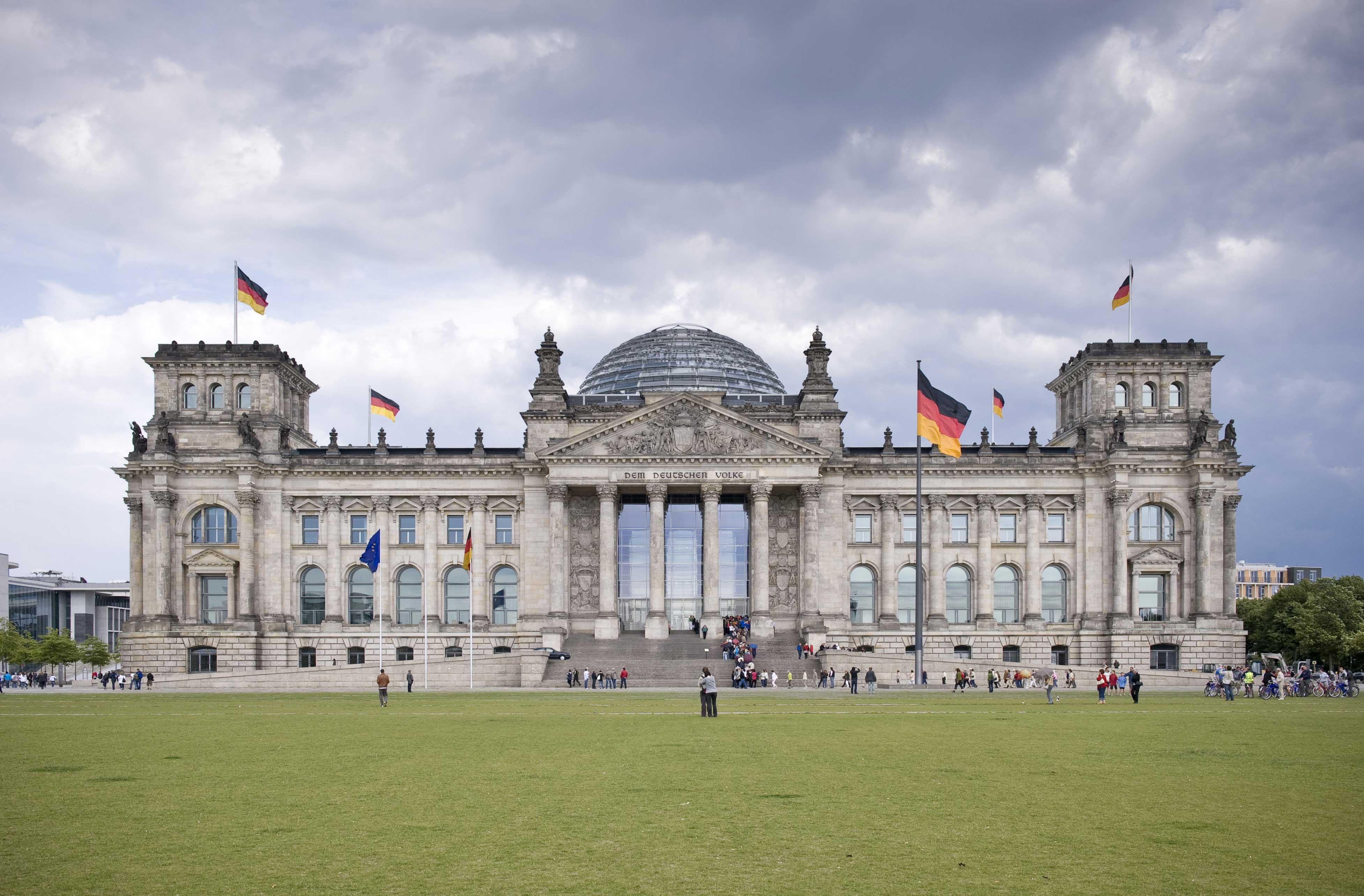 Deutscher Bundestag - Reichstagsgebäude  Deutscher Bunde...