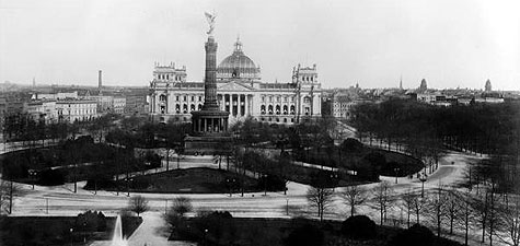 The Reichstag Fire >> German Bundestag - The Empire (1871-1918)
