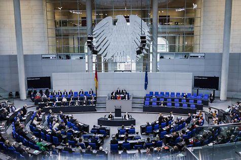 Tagesordnung Bundestag