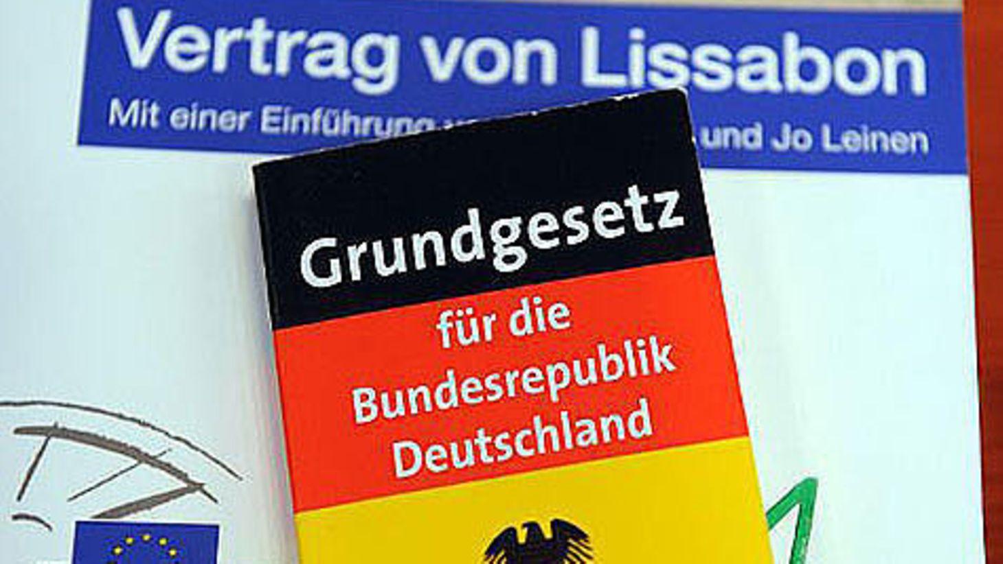 Deutscher Bundestag Der Lissabon Vertrag Und Seine Folgen