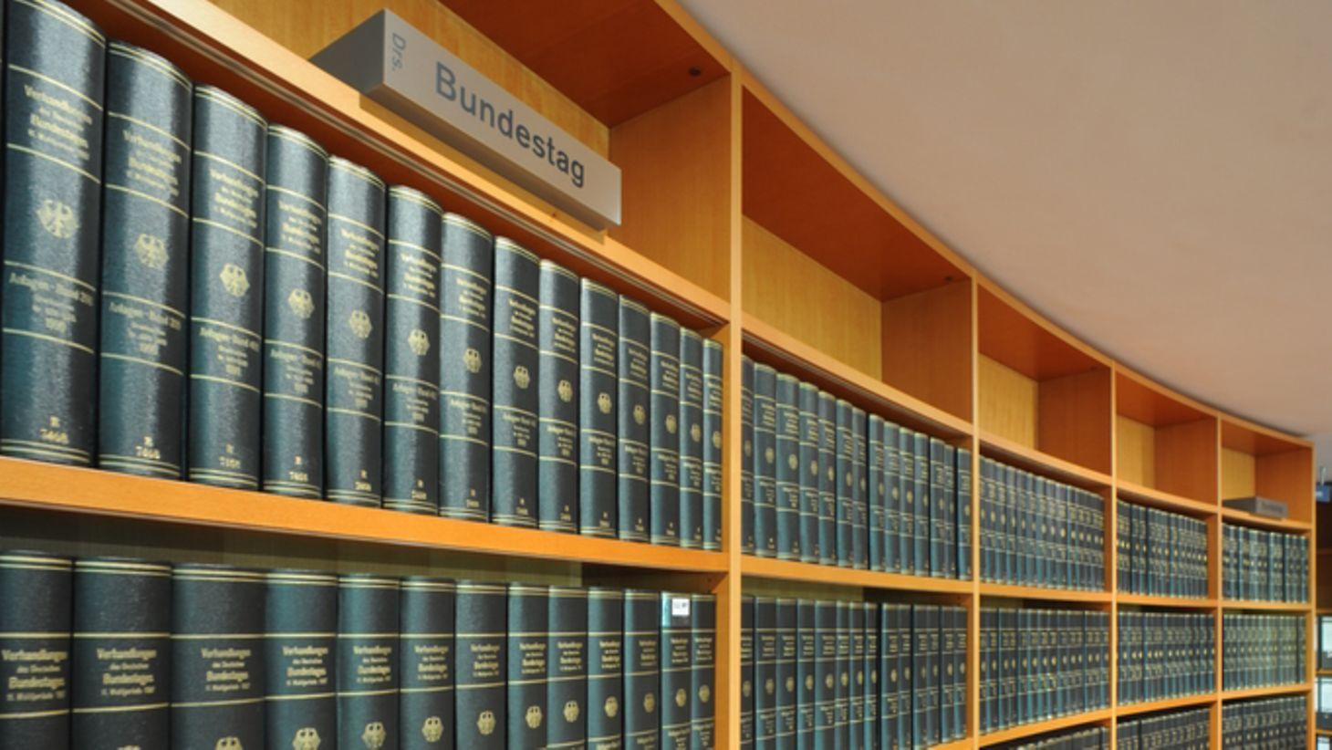 Deutscher Bundestag Drucksachen