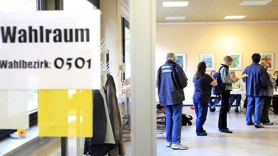 Die Wahlen zum Bundestag sind allgemein, unmittelbar, frei, gleich und geheim.