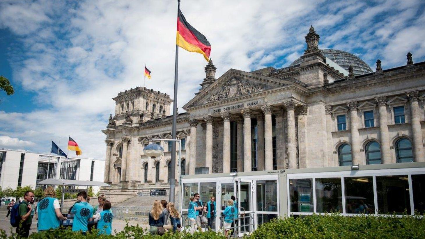 Deutscher Bundestag - Информация за посетители