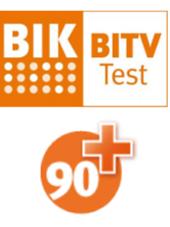 Logo des Projekts BIK - Prüfzeichen 90plus